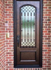 Create a luxurious entryway by adding custom ornate doors from Clark Hall Doors. Ornate entry doors make a statement and turn your home into a masterpiece. Grill Door Design, Gate Design, Iron Gates, Iron Doors, Single Door Design, Pastel Room, Single Doors, Steel Doors, Entrance Doors