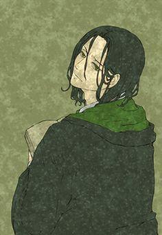 Slytherin Green~ Severus Snape