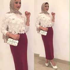 How to wear pencil skirts with hijab – Just Trendy Girls: http://www.justtrendygirls.com/how-to-wear-pencil-skirts-with-hijab/