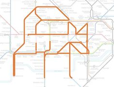 Tufnell Park the Fox. | 22 Animals Who've Been Hiding Out In The London Underground Map