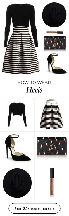 """Untitled #710"" by patrisha175 on Polyvore featuring Rumour London, Topshop, Yve..."