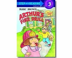 Arthur's Fire Drill by Marc Brown. Fire Safety books for kids. Fire Safety For Kids, Fire Safety Week, Family Safety, Child Safety, Math Literature, Math Books, Reading Books, Library Books, Best Children Books