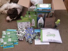 Just got my healthy baby home party kit! Time to set up for the party :) received for free from generation good for my review. #freesamples. @seventhgeneration @Healthy_Child @Zarbees @bobblelove