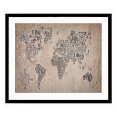 xxl format impression sur toile images 3 parties carte du monde tableau 020113 50. Black Bedroom Furniture Sets. Home Design Ideas