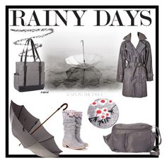 """Rainy Days"" by tinydancer2018 ❤ liked on Polyvore featuring Yves Saint Laurent, Chantecaille, Bellino, BeSafe by DayMakers and Mr. Jenks"