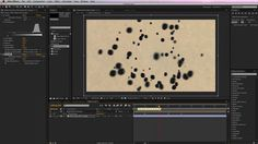 Ink Drop Tutorial by Vurb. In this After Effects tutorial youll learn how to create and use custom particles in Particular. Youll also learn how to combine multiple stock footage files to create an organic logo reveal. Adobe After Effects Tutorials, Effects Photoshop, Video Effects, After Effects Projects, Organic Logo, Type Treatments, After Effect Tutorial, Logo Reveal, Photoshop Illustrator