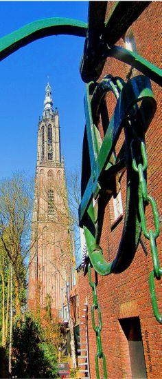 Amersfoort, de sprengel op de Langestraat.