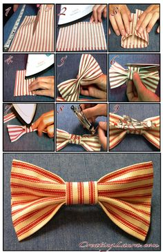 Hair Bow Instructions, CreatingLaura.com