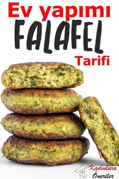 Falafel is an extremely tasty Mediterranean bean pate made with fresh herbs . - Falafel is an extremely tasty Mediterranean bean pate made with fresh herbs … # Bean - Recipes vegan Vegetarian Recipes, Cooking Recipes, Healthy Recipes, Garbanzo Bean Recipes, Cooking Videos, Delicious Recipes, Food Videos, Fun Easy Recipes, Easy Meals