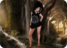 This amazing Women Stuff Hunt begins September mark those calendars. Outfit Delirium Style ~ Aiyana Wicca Dress w. Latina, Amazing Women, Cupcake, Mesh, Wonder Woman, Superhero, Outfits, Dresses, Style