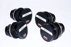 What a perfect little prime lens set--24mm, 35mm, 50mm, and 85mm. Nikon glass that has been customized to be cine-friendly. Currently $1625. #lenses #film