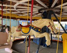 The merry history of the old SDC carousel | The Sonoma Index-Tribune Sonoma State, Valley Of The Moon, Glen Ellen, Still Standing, Children And Family, Amusement Park, Made Of Wood, Carousel, Old Things