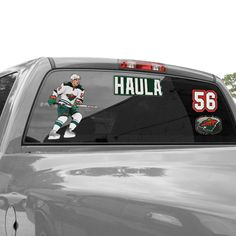 "Erik Haula Minnesota Wild WinCraft 11"" x 17"" Player Decal Sheet - $14.99"