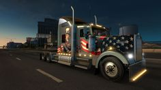 Happy Day! 4th of July !!!! Kenworth
