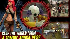 Zombie Hunter Apocalypse Android and IOS gameplay