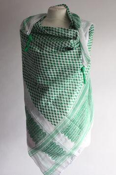 WIH Keffiyehs - Green White