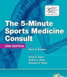 The 5-Minute Sports Medicine Consult (5-Minute Consult Series) By Mark D. Bracker PDF