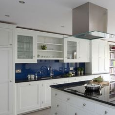 classic blue white kitchen traditional kitchen ideas beautiful kitchen splashbacks kitchen design ideas housetohome uk