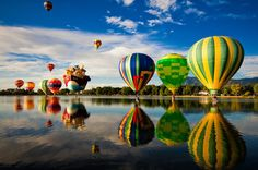 Colorado Springs, Colorado  Theae were amazing looking they had a festival every year with the Hot air balloons