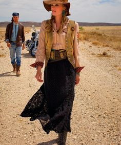 """""""Arsenic & Old Lace Skirt"""" by Double D Ranchwear - I live in jeans & boots, but love this as a """"go to"""" skirt"""