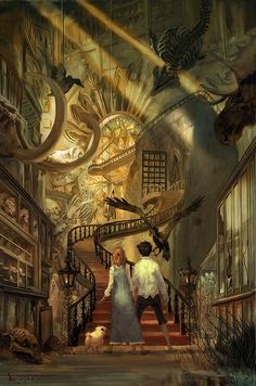 Museum of Thieves by Jon Foster    I feel like i've read a book like this before....