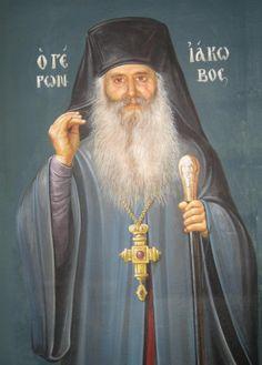 Πνευματικοί Λόγοι: Η ασματική ακολουθία του Οσίου Ιακώβου του εν Ευβο...