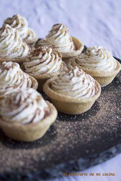 Tartaletas de nata   El recetario de mi cocina