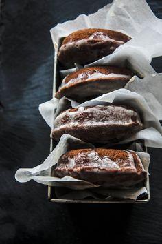 Baked Chocolate Cake Doughnuts