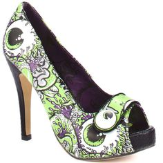 Buy the Iron Fist Oh No Womens PU Peep-Toe High Stiletto Heel Platform Shoes in Lime Green at Scorpio Shoes. Come and see our collection of women's shoes. Pink Heels, Peep Toe Heels, Stiletto Heels, Pumps Heels, Fasion, Fashion Boots, Women's Fashion, Cute Shoes, Me Too Shoes