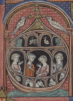 Noah's Ark – Manuscript Art Medieval Manuscript, Medieval Art, Illuminated Manuscript, Faith Of Our Fathers, Engineer Prints, Art Antique, Book Of Hours, Inca, Arsenal