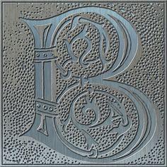 Presentation Alphabets: Drop Caps Letter B - Style 114