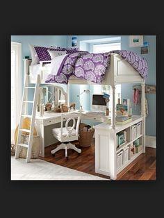 Teen loft office