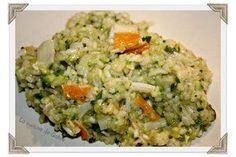 Risotto surimi et courgettes (thermomix)