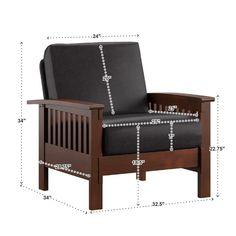 Wooden Sofa Set Designs, Wood Bed Design, Furniture Design, Bois Iroko, Mission Style Furniture, Craftsman Furniture, Shelving Design, Wood Sofa, Room Chairs