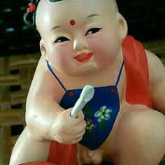 Vintage Chinese Clay Doll / Figurine (Zhang) - Set 3 Of 3 on Carousell Chinese Babies, Tianjin, Clay Dolls, Christmas Ornaments, Holiday Decor, Vintage, Christmas Jewelry, Vintage Comics, Christmas Decorations