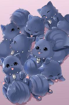 Wall paper computer animals anime 20 Ideas for 2019 Anime Chibi, Anime Manga, Anime Art, Neko, Manhwa, Deadman Wonderland, Dramatical Murder, Kaichou Wa Maid Sama, Kawaii Art