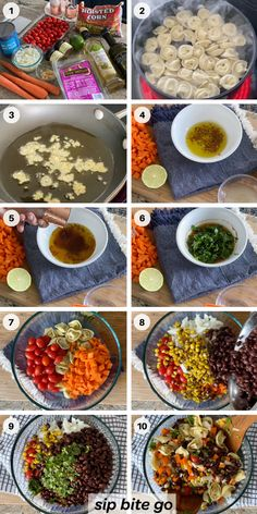 Steps to make Mexican pasta salad. It's like a taco salad or taco bowl pasta salad with cheese tortellini. Great for potlucks, bbqs and even work from home lunches. Italian cheese tortellini with the Mexican flavors of lime, cilantro, chili powder and chipolte powder make this one delicious appetizer for a crowd. | sipbitego.com #sipbitego #dinner #pastasalad #makeahead #potluck #sidedish #pastadish #familymeal #recipe #comfortfood #pasta #mexican #tortellini #partyfood Pasta Salad With Tortellini, Easy Pasta Salad, Cheese Tortellini, Pasta Salad Recipes, Appetizers For A Crowd, Yummy Appetizers, Easy Dinners, Easy Dinner Recipes, Mexican Pasta
