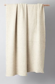 OYUNA London Scala Cashmere Throw in Beige