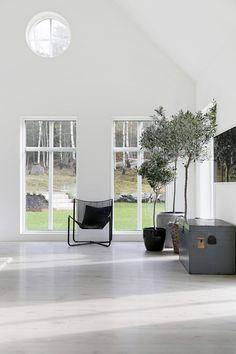 Sjövik_vardagsrum_9431_web Villa, Living Room, Architecture, Interior, House Ideas, Passion, Design, Decor, Houses