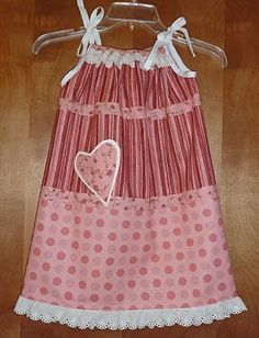 Pieces of Love Pillowcase Dress!!