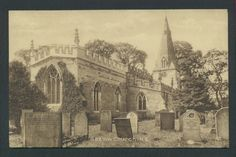 Church of St Anne Baslow Derbyshire Postcard Listing in the Derbyshire,England,Topographical,Postcards,Collectables Category on eBid United Kingdom