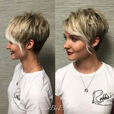 Asymmetrical Short Pixie Hairstyle