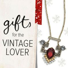 Vintage Lover? Shop Chloe + Isabel gorgeous jewelry at www.chloeandisabel.com/boutique/lisab!