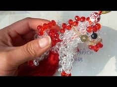 How to bead animal acceceroy: Zodiac horse 1/3 - YouTube