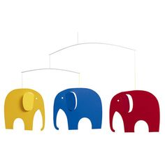 Found it at AllModern - Elephant Party Mobile $32.99