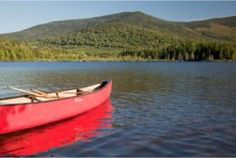 Canoeing is a relaxing way to tour the lake and ponds around Moosehead Lake.  Guests at the lodge go on their own and hire guides to find the special places or to learn how to canoe rapids or the art of poling.