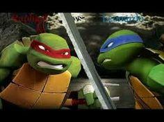 Raph vs Leo OMG GUYS XD