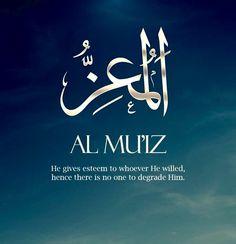 Names Of Allah ❤️ المعز