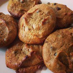 Pumpkin Chai Chocolate Chip Cookies (Paleo / Vegan / GFCF) #PaleoishonaDime