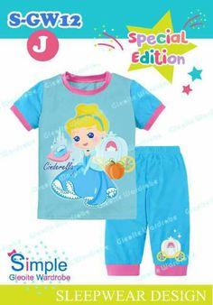 GG101 Setelan Anak Cewek SGW12J Cinderella Biru Size 2th 3th 4th 5th 7th Rp 100.000 (ready)